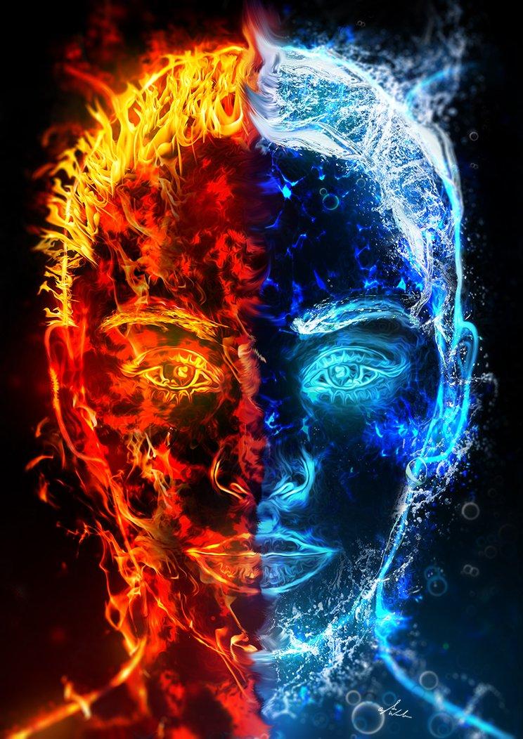 4 стихии: огонь, вода (часть 1)